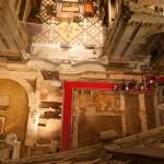 Vista aerea scavi archeologici